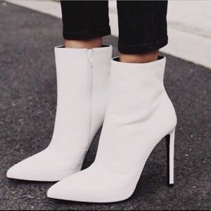 Tony Bianco freedie white capretto bootie